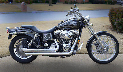 1999 Harley-Davidson Dyna  1999 Harley Davidson Dyna Wide Glide FXDWG Custom Paint Tons of Extras!