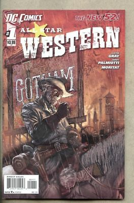 All Star Western #1-2011 vf/nm 9.0 Jonah Hex New 52   1st Standard cover version