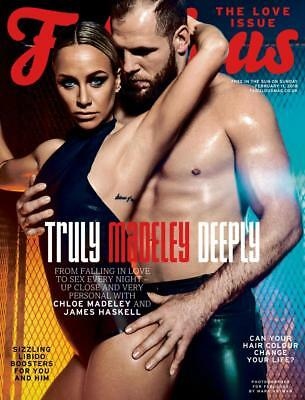 Fabulous Magazine February 2018 JAMES HASKELL & CHLOE MADELEY COVER STORY