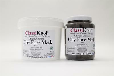 Classikool [Activated Charcoal Bentonite Clay Face Mask]: Essential Oil Choice