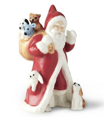 Royal Copenhagen 2017 Annual Santa Figurine - 1021111 - New in Box!