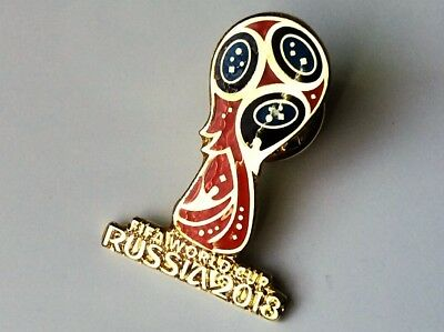World Cup 2018 Logo Pin Badge Russia Football Soccer