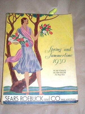 Sears Roebuck and Co. Spring and Summertime Book Catalog 1930