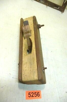 Nr. 5256.    Alter  Hobel Holzhobel Handhobel   Old Wood Plane Working Tool