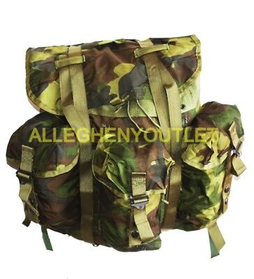US Military Woodland Camo Alice Field Pack Radio Backpack Medium LC-1 w/ Straps