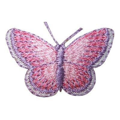 Butterfly Lady Jeweled Patch Colorful Fairy Cute Embroidered Iron On Applique