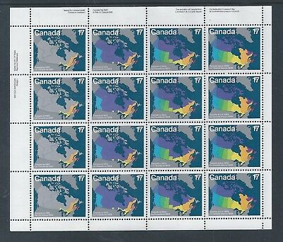 Canada Day #893a UL Full Pane Mint Never Hinged ** Free Shipping **