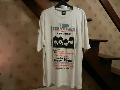 The Beatles Live New York 1965 Apple Corps T-Shirt Excellent Unworn Labels Large