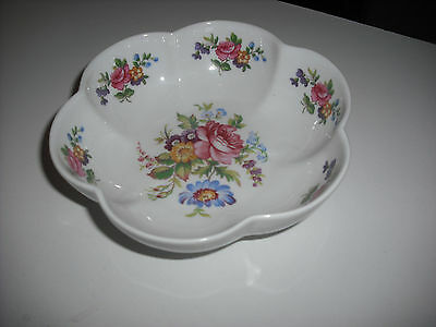 Royal Vale China Floral Design  Fluted Bowl  New