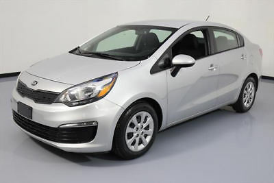 2016 Kia Rio  2016 KIA RIO LX SEDAN AUTOMATIC AIR CONDITIONING 40K MI #001573 Texas Direct