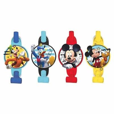 5c006a72034d3 MICKEY MOUSE On The Go BLOWOUTS ~ Birthday Party Supplies Favors Noisemakers