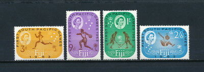Fiji #199-02 MNH, South Pacific Games, 1963