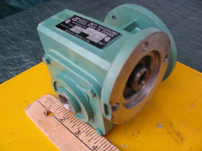 """LEROY SOMER 25:1 MVA SPEED REDUCER Right Angle Gear / 3/4"""" Hollow Shaft GEARBOX"""