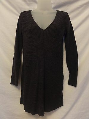 Old Navy Women's Maternity GREY WOOL BLEND  Sweater TUNIC FITTED  Size M