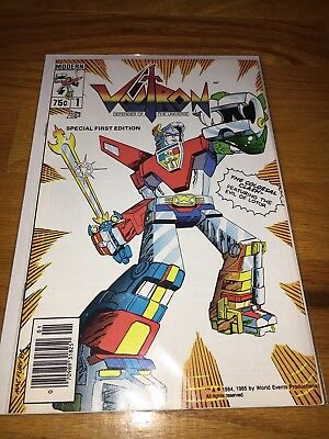 VOLTRON Defender of the Universe #1 (Modern 1985) 1st App of Voltron