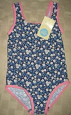 BODEN Floral One-Piece Swimsuit NWT Girls 4/5y