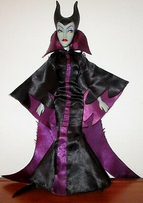 """Disney Store Classic Deluxe Maleficent  12""""  Doll From Sleeping Beauty"""