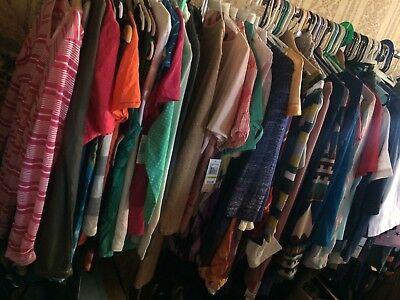 100 PC New Name Brands Resell Wholesale Women Clothes & Apparel-A
