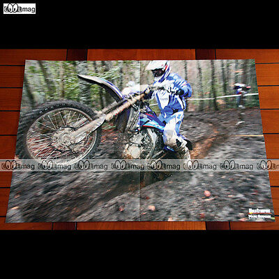 MARC GERMAIN (2007) - Poster Pilote MOTO-CROSS (Motocross) #PM265