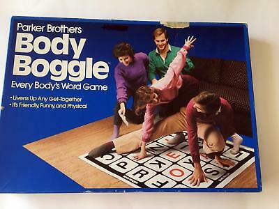 Body Boggle Vintage Game - 1984 - 100% Complete - spell words on the mat