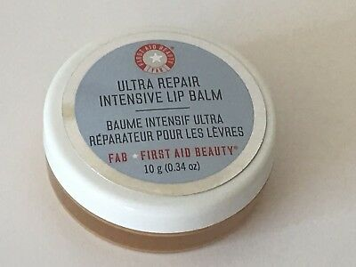 New! First Aid Beauty Ultra Repair Intensive Lip Balm .34 oz