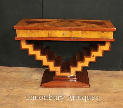 Art Deco Console Table Modernist Retro Interiors Furniture