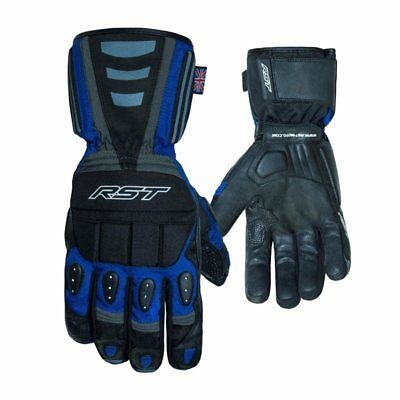 RST Storm Waterproof Breathable Textile /& Leather Motorcycle Gloves  2717 1717