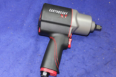 "Earthquake EQ12XT 1/2"" Composite Xtreme Torque Air Impact Wrench, 1000 ft-lbs"