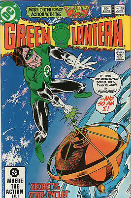 Green Lantern # 153 - Secret Of The Star Cycle ( Scarce - 1982 )