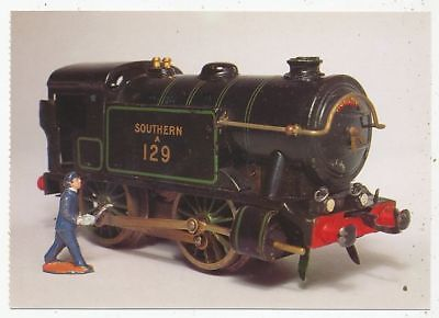 Cpa Pk Ak Vieux Jouets Old Toys Southern Railway Special Tank Loco Hornby 1931