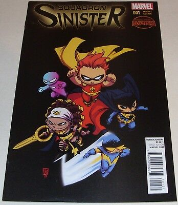 Squadron Sinister No 1 Marvel Comic Aug 2015 S.Young Variant Cover Secret Wars