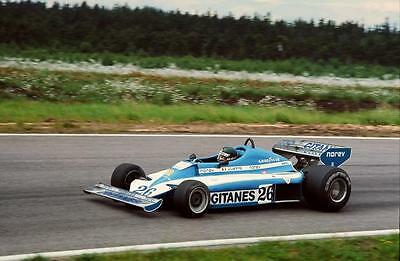 photo 20 par 30 cm jacques laffite ligier matra Grand Prix suede 1977 F1