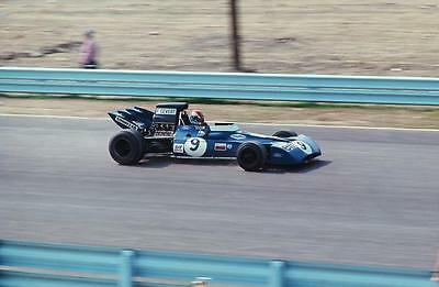 photo 20 par 30 cm francois cevert Tyrrell  Grand Prix USA F1 1971