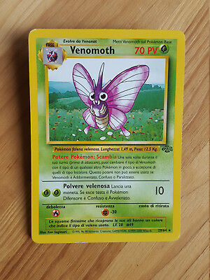 Venomoth  29/64 rara* - Jungle (ita) Pokemon (sd001)