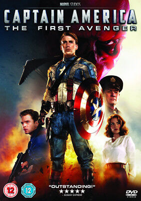 Captain America The First Avenger Dvd New Region 2