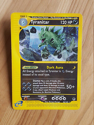 Tyranitar  66/165 RARA* - Expedition (eng) Pokemon (sd021)