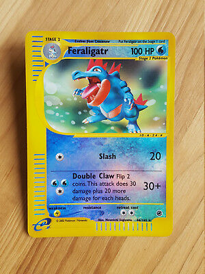Feraligatr  46/165 Reverse Holo - Expedition (eng) Pokemon (sd023)