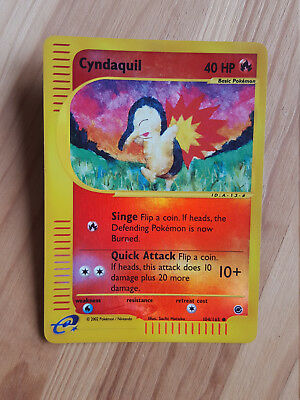 Cyndaquil  104/165 Reverse Holo - Expedition (eng) Pokemon (sd038)