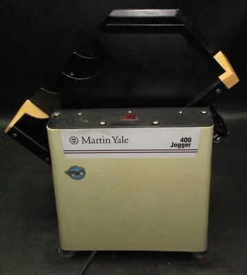 MARTIN YALE Model 400 Paper Jogger *Made in USA*