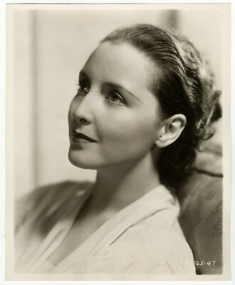Vintage 1930s Dorothea Wieck Soft Hollywood Art Deco Glamour Portrait Photograph