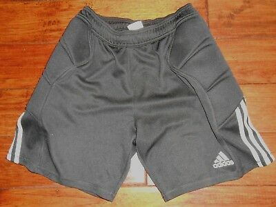 Men's Adidas Padded Compression Athletic Shorts Size Large in Black Climalite