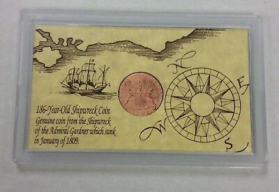 1808 Coin From The Shipwreck Of The Admiral Gardner