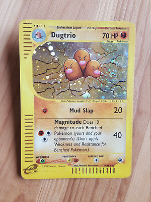 Dugtrio  10/165 Holo - Expedition (eng) Pokemon (sd042)