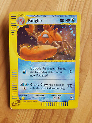 Kingler  15/165 Holo - Expedition (eng) Pokemon (sd044)