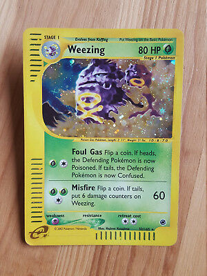 Weezing  32/165 Holo - Expedition (eng) Pokemon (sd047)