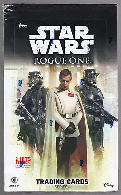 2016 Topps Star Wars Rogue One Series 1 FACTORY SEALED Hobby Box Free S&H