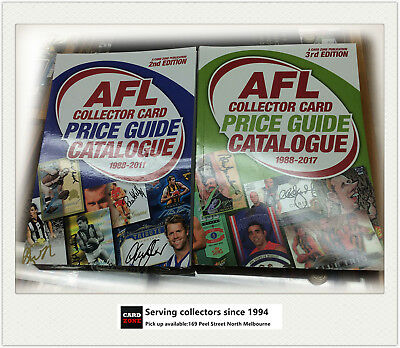 COMBO-AFL COLLECTOR CARD PRICE GUIDE CATALOGUE EDITION (3 + 2 ) (two books)
