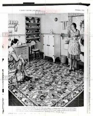1979 Orig Photo ads from 1933 edition of Ladies Home