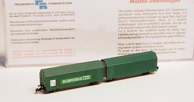 FR Z-scale 47.819 Norwegian NSB Auto transport car Class Hccrrs in METAL