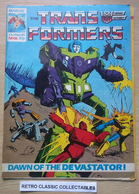 Marvel UK - The Transformers - Comic - No. 36 - 23rd Nov. 1985